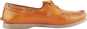 TZARO Genuine Leather Boat Shoes - Timber Alpine Tan