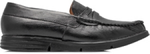 TZARO Genuine Leather, Feather Lite Black Formal Shoes -  TIMS, ICNSLP2214BL