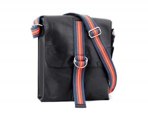 Black Color Genuine Leather Sling Bag for Men Online
