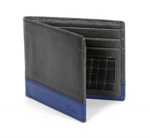 Stunning Blue Men's Wallet Online