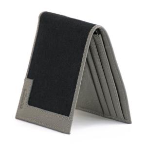 Black Beige Canvas Genuine Leather Wallet Online