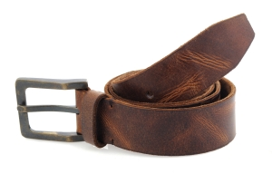 Chocolate Colored Formal Genuine Leather Belt Online