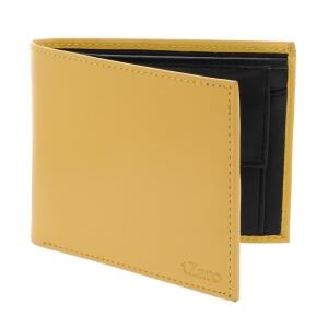 Yellow & Black Bifold Wallet for Men's Online