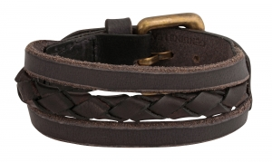 TZARO Genuine Leather Bracelet: TZLCF002