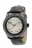 Black Leather Strap Hand Quartz Watch for Men Online