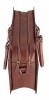 tan brown leather laptop bag