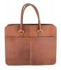 tan leather laptop bag
