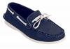 Blue Genuine Leather Boat Shoes Online for Men Online