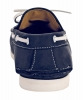 Blue Genuine Leather Boat Shoes Online for Men Online