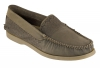 Olive Leather Boat Shoes