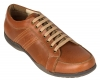 Tan Brown Leather Sneakers