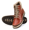 Tan Genuine Leather Heavy Boots for Men Online