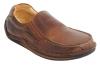 Tan Leather Men Slip on