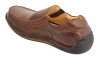 Tan Leather Men Slip on