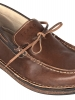Brown Leather Mens Slip on Shoes
