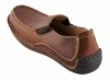 Buy Brown Leather Slip on Shoes