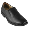 Black Leather Shoes without Laces