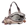 Beige Canvas Genuine Leather Office Bag for Men Online