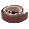 Beige Tan Color Leather Casual Belt for Men Online