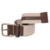Beige - Tan Canvas Leather Belt for Men Online