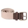 Beige - Tan Canvas Leather Belt for Men Online