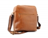Tan Color Leather Sling Bag | Office Leather Sling Bag Online