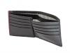 Black & Purple Colour  Leather Men's Wallet Online