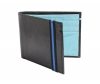 Buy Bifold Stunning turquoise & black weather wallet online