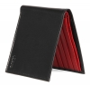 Black & Red Bifold Wallet for Men's Online