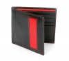 Black & Red Best Slim Leather Wallet for Men Online