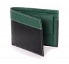 Black Green Twin Color Bifold Men's Wallet Online