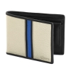 Cream & Black Bifold Genuine Leather Wallet for Men Online