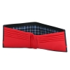 Black & Red Color Leather Purse for Men's Online