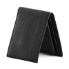 Bifold Classic Black Color Leather Wallet for Men's Online