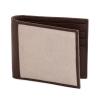 Beige Brown Leather Men's Wallet Online