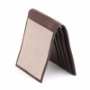 Beige Brown Leather Men's Wallet Online