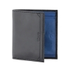 Blue Black Bifold Genuine Leather Wallet for Men Online