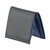 Blue Black Bifold Genuine Leather Wallet for Men Online