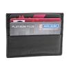 Black Bifold Card Holder Leather Wallet for Men Online