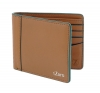 Tan Green Color Pure Leather Wallet for Men Online