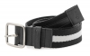 White Premium Canvas Leather Belt Online