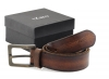 Tan Colored Pure Genuine Leather Formal Belt for Men Online
