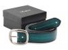 Mehndi Green Colored Genuine Leather Formal Belt Online