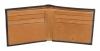 Black & Tan Color Bifold Men's Leather Wallet Online