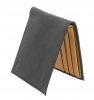 Black & Tan Color Bifold Men's Leather Wallet Online