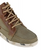 Genuine Leather Olive Green Johnson Boots for Men's Online