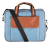 blue laptop bag