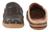Black Leather Slipper for Men Online