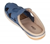 Navy Blue Genuine Leather Slipper Online