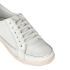 White Genuine Leather Shoes (Atlanta) for Men Online
